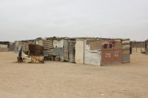 Democratic Resettlement Community - Slum von Swakopmund