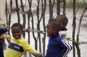 3 kleine Einwohner des Okavango Delta