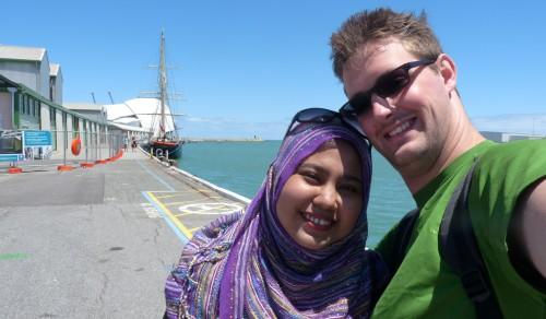 November 2010: Im Hafen von Fremantle, Australien
