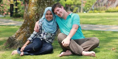 Oktober 2011: an unserem Lieblingsplatz in Kuala Lumpur: Lake Gardens
