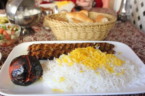 Ein leckeres Mittagessen gab es beim Persen